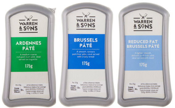 Lidl Warren and Sons Pate